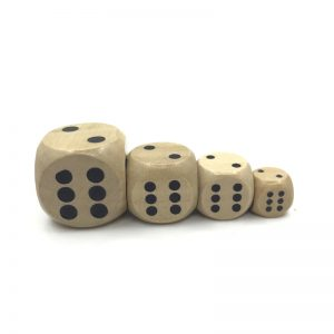 Solid Wood Dice