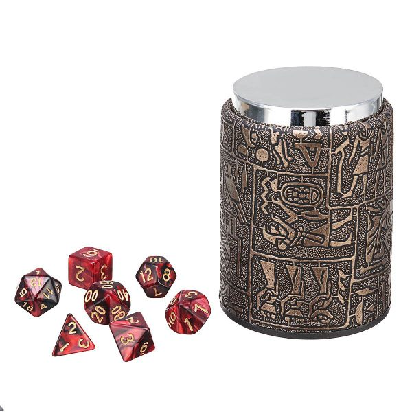 dice and dice cup