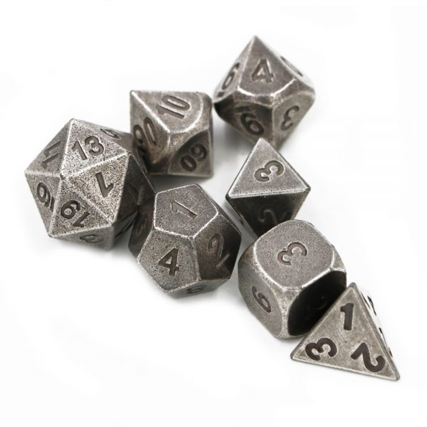 Solid Metal Dice