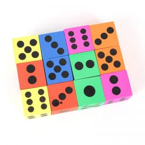 Foam Playing Dice