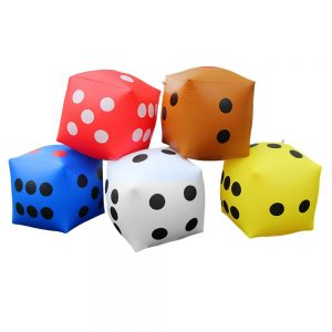 Inflatable Toy Dice