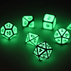 DnD Dice Glow Metal
