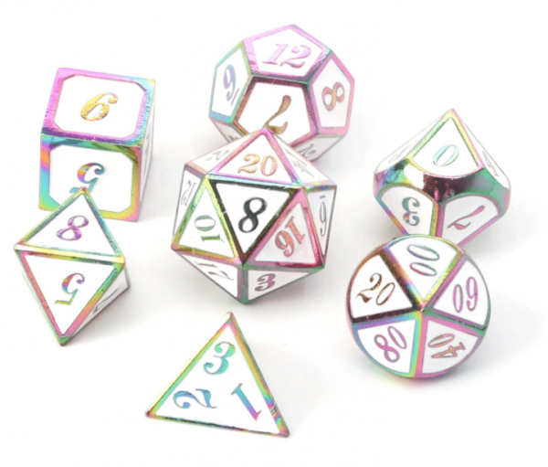 Rainbow White DnD from Metal