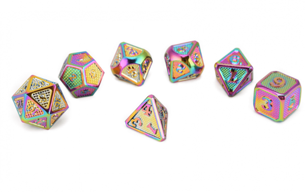 Dragon Metal Dice DnD
